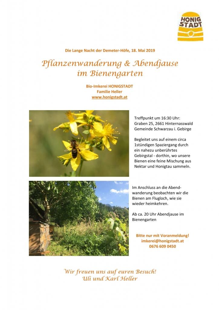 Bio-Imkerei Honigstadt